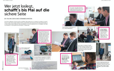 Datenschutzsicherheit/Datenschutzgrundverordnung bei der Märkische Etiketten GmbH