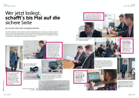 Editorial Datschutzsicherheit / Datenschutzgrundverordnung bei Märkische Etiketten