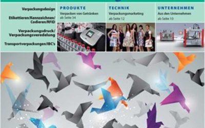Märkische Etiketten im Packaging Journal