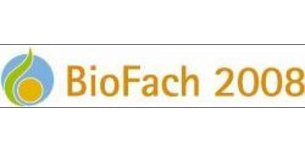 Logo der Biofach 2008
