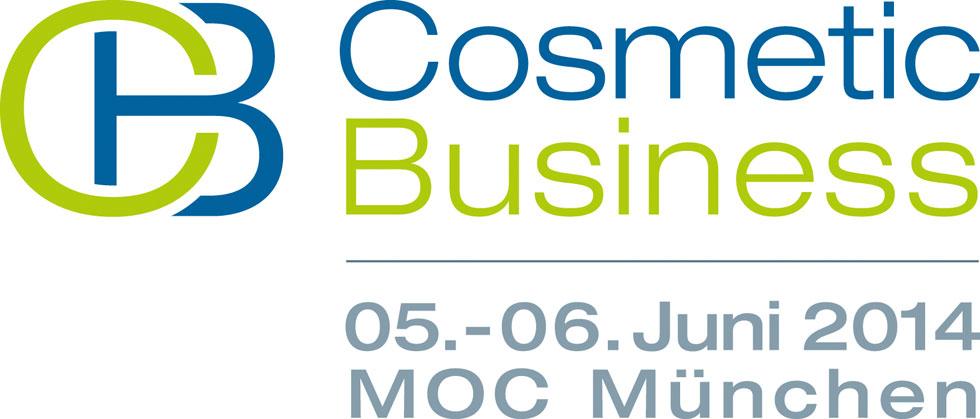 Logo der CosmeticBusiness 2014 Kosmetikmesse