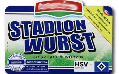 FLIPLabel Etiketten für die Stadionwurst