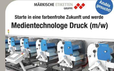 Fürstenwalder Ausbildungsbörse 2016 – Märkische Etiketten Gruppe stellt aus