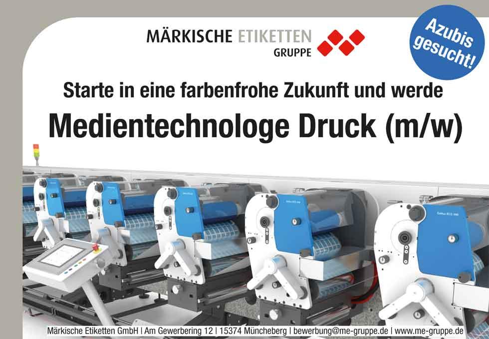 Fürstenwalder Ausbildungsbörse 2016 Anzeige für Azubis